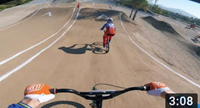 BMX-Racing // Niek Kimmann in Chula Vista with the Dutch National Team!